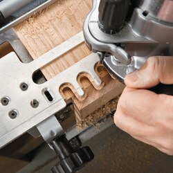 12 In Dovetail Jig