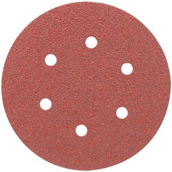 Porter Cable - 6 HL AO 6 hole 40g disc 5 pack - 736600405