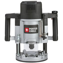 Porter Cable - 314 HP Maximum Motor HP Single Speed Plunge Router - 7538