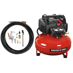 Porter Cable - 6Gallon OilFree Pancake Compressor Kit - C2002-WK