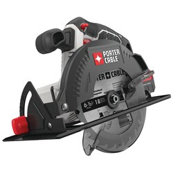 Porter Cable - 20V MAX 612 in Cordless Circular Saw Tool Only - PCC660B