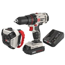 Porter Cable - 20V MAX Cordless 12 in DrillDriver  Bluetooth Speaker Combo Kit - PCCK607LA