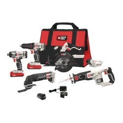 Porter Cable - 20V MAX Cordless 6Tool Combo Kit with Free USB Charging Device - PCCK617L6
