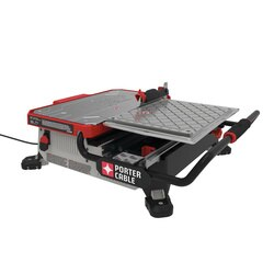 Porter Cable - 7 in Table Top Wet Tile Saw - PCE980