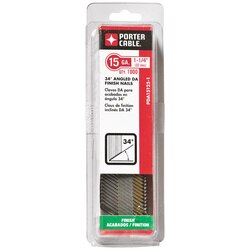 Porter Cable - 114 in 15 Ga DA Angled Finish Nails 1000 Count - PDA15125-1